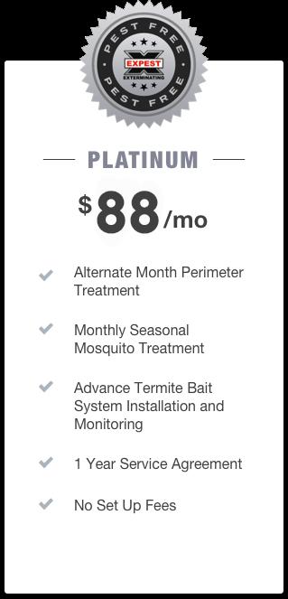 platinum pest control package